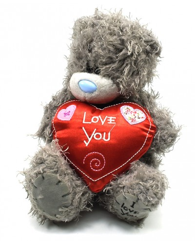 Мишка 16WC1 16см, с сердцем