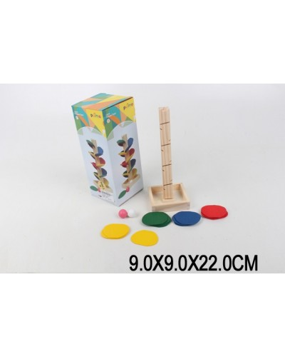 Деревян. логика LS8045  в коробке 9*9*22 см