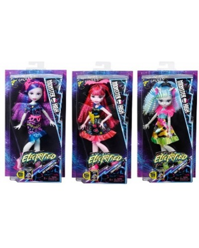 """Кукла """"MH""""E"""" DVH65 3 вида, шарнир, гофрированные волосы, в кор.16*6*32,5см"""