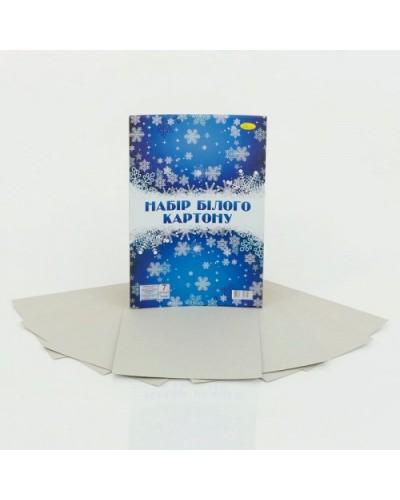 Набор белого картона А4, 7 арк., 235 г/м2