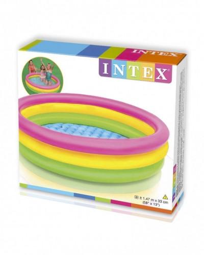 Бассейн детский 147*33см Intex