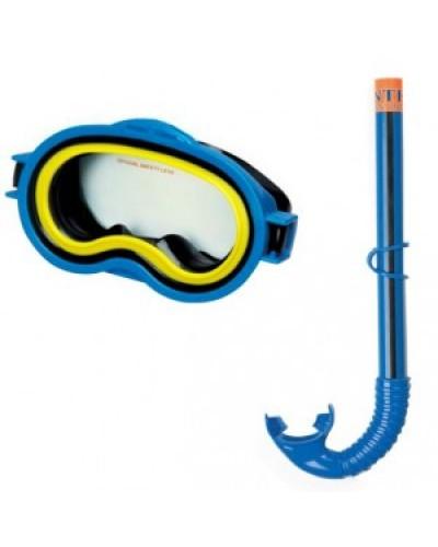 Набор маска+трубка от 8лет Intex
