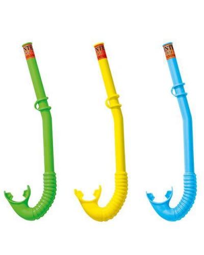 Трубка для плавания 3-10лет 3цв.Intex