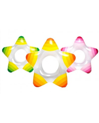 Надувной круг в форме звезды Intex 59243