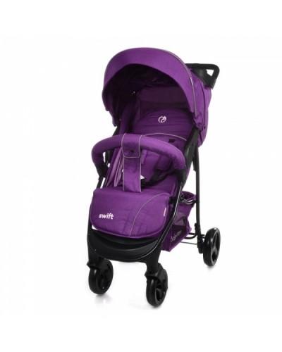 Коляска прогулочная BABYCARE Swift BC-11201 Purple в льне 92x51х102