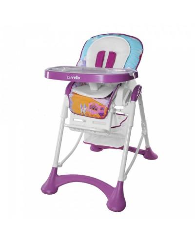 Стульчик для кормления CARRELLO Chef CRL-10001 Purple 100x63x61