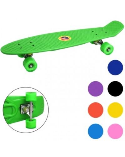 Скейт BT-YSB-0057 пластик.PVC колеса 68*19см 2кг 8цв./8/