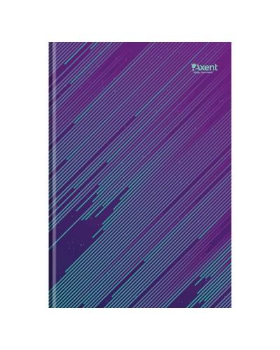 Книга записна А4 Diagonal, 192арк., кліт., бірюзовий