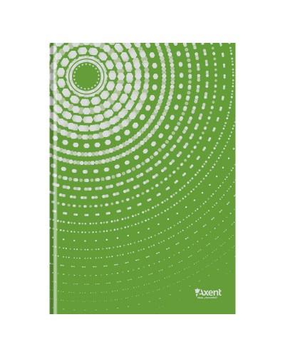 Книга записна А4 Sun, 96арк., кліт., зелений