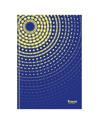 Книга записна А4 Sun, 96арк., кліт., синій