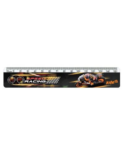 Лінійка пластикова, 15см Speed Racing