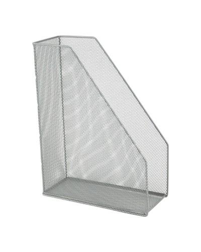 Лоток вертикальний 100x250x320мм металевий, срібл