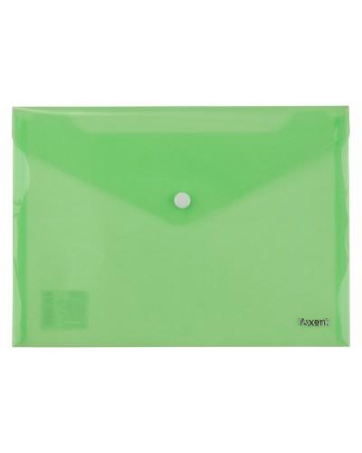 Папка на кнопці А5, зелена