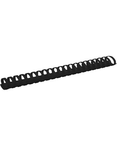 Пружина пластикова d 38 мм, чорна, 50 шт.