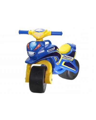"""Мотобайк """"Полиция"""" музык. (сине-желтый), арт. 0139/57, Фламинго (Долони)"""