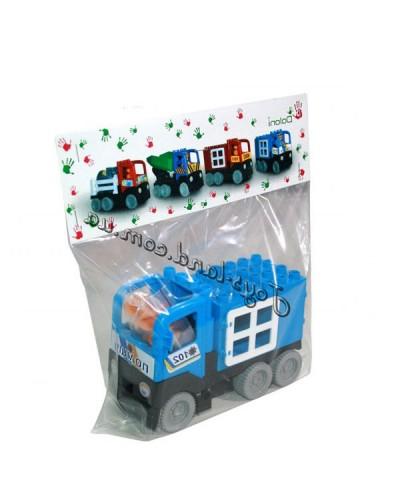 """Конструктор машинка """"Полиция"""", арт. 013888/22, Фламинго (Долони)"""