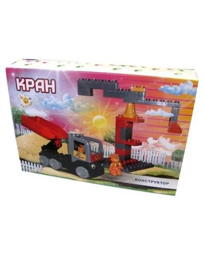 """Мини конструктор """"Кран"""" 38 детал. 13888/18"""