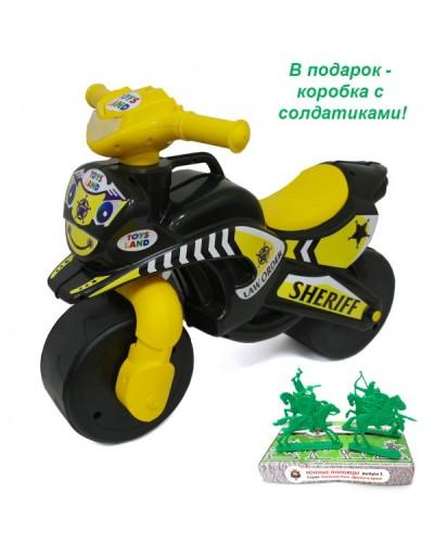Мотобайк музичний ЧЕРНЫЙ ШЕРИФ 0139/7Е