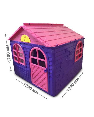 Детский игровой домик со шторками Doloni 02550/1 (Цвет Розово-фиолетовый)