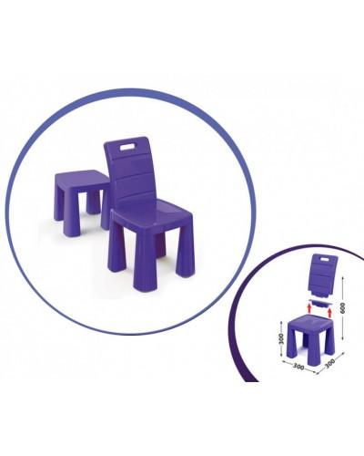 Дитячий стілець-табурет 04690/4 фіолетовий Doloni Детский стульчик табурет фиолетовый