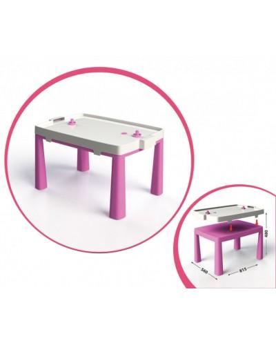 Стол детский + комплект для игр Doloni 04580/3 (Цвет розовый)