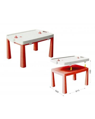 Стол детский + комплект для игр Doloni 04580/5 (Цвет - красный)