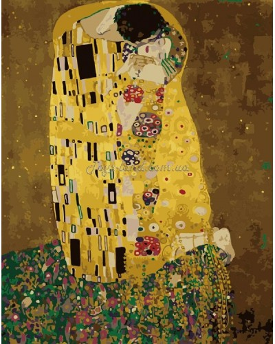 "Картина по номерам ""Аура поцелуя"" 40х50 см, арт. 1109, Идейка"