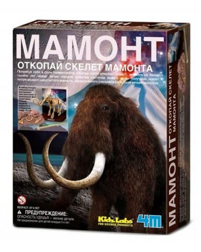 Мамонт. Археологічні розкопки динозаврів. арт 00-03236