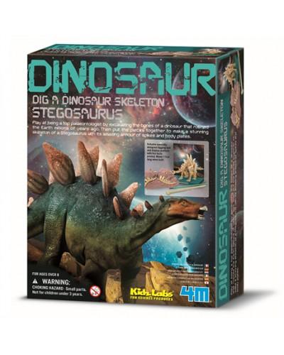 Трицератопс. ДНК динозавра. Археологічні розкопки динозаврів. арт 00-07004