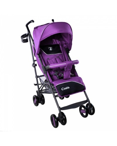 Коляска прогулочная CARRELLO Costa CRL-1409 Striking Purple 87x48x106