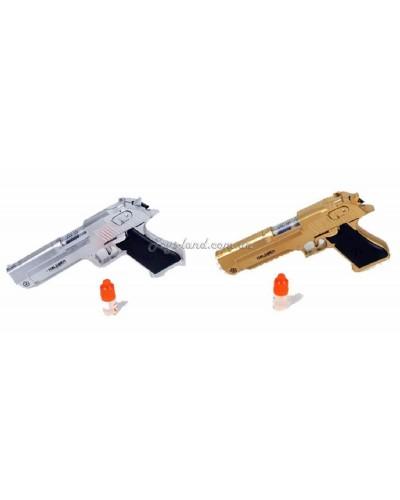 Пистолет батар. 236-7A(1551105) (144шт) свет, звук, дым, в пакете 22*3*12,5см