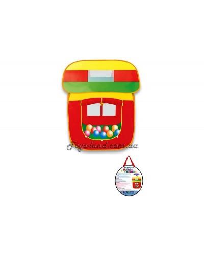 """Палатка в сумке """"Волшебный домик"""" 99х91х109 см (без шариков), арт. 5538-2"""