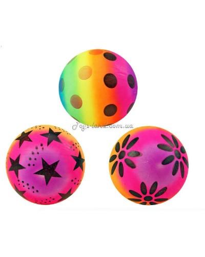 Мяч резиновый (ассорти), 25см 80г, арт. 12762