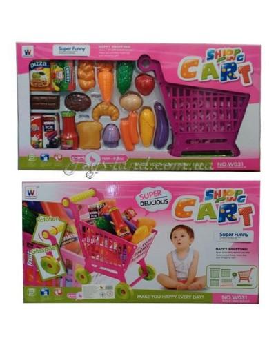 Игровой набор тележка для супермаркета