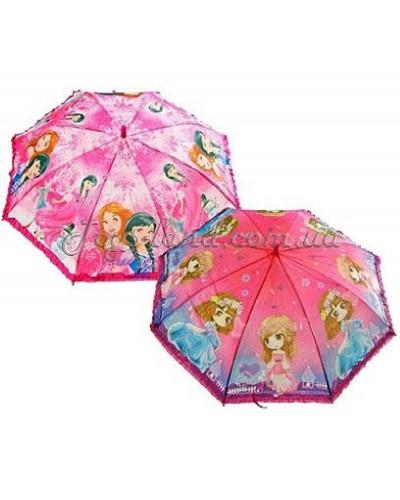 Зонт Принцессы, (2 вида), арт. 1003