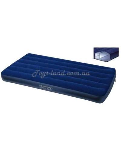 Кровать велюровая, арт. 68757 Intex