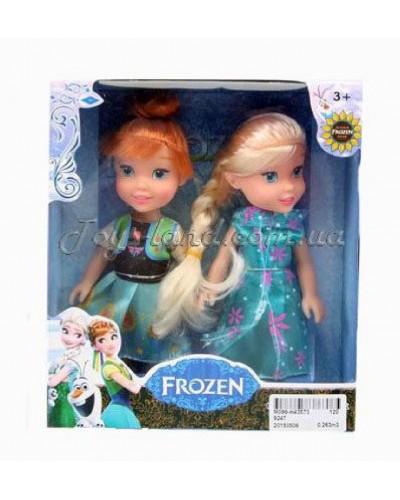 """Кукла """"F"""" (2 сестры в наборе), арт. 9247"""