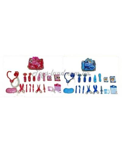 Доктор 703A/B стетоскоп, шприц, термометр, ножницы, в сумке