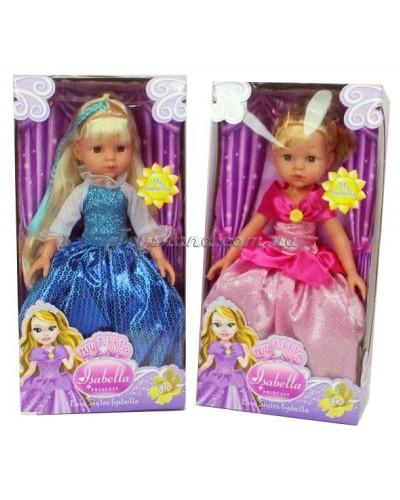 """Кукла """"Isabella"""" R101 2 вида, в бальном платье, в кор. 17*9*34cм"""