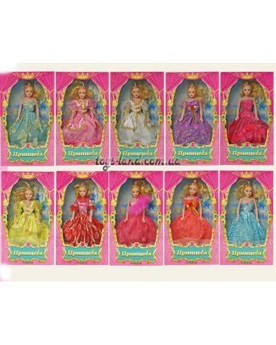 "Кукла типа ""Барби"" 2111 15 видов, в кор. 33*18*5см"