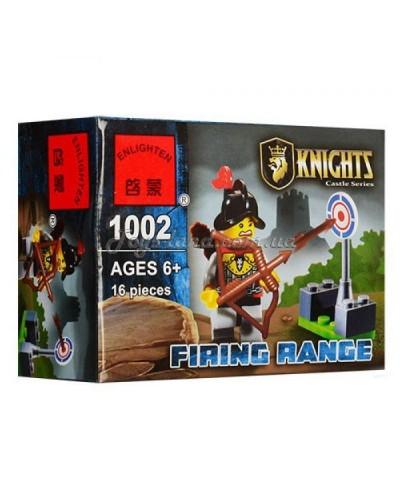 """Конструктор """"Brick"""" 1002  KNIGHTS, 16дет, в собр.коробке 9,5*7*4,5см"""