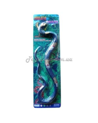Животные резиновые-тянучки длина змеи 100 см, на планшетке,арт. 001-090