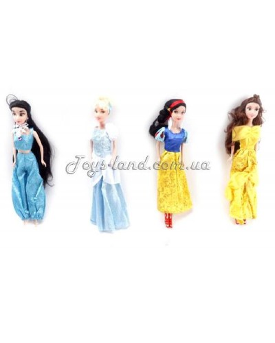 """Кукла """"Принцесса"""" M9321-1C (1302673)  4 вида, в пакете 6*3*29см"""
