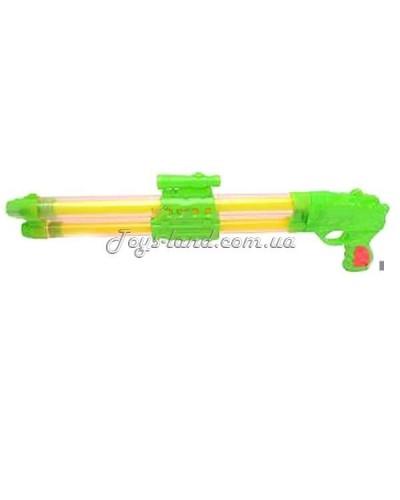 Водяной пистолет 8838 А2  двойной ствол, 2 цвета, в кульке, 51-17см