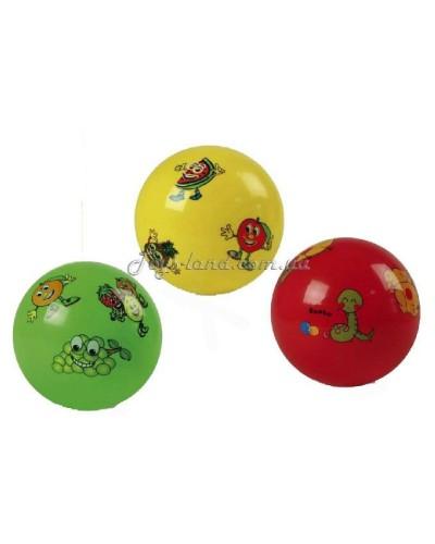 """Мяч резиновый (ассорти), 9"""" 80g, арт. 3126"""