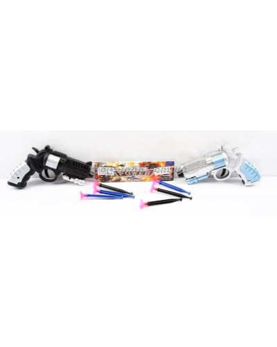 Пистолет с присосками 3334 (288шт/2) в пакете 18*12*3см