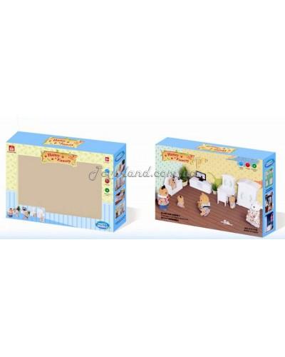 Животные флоксовые 012-11B (36шт) Happy Family, в короб.18*15*4,5см