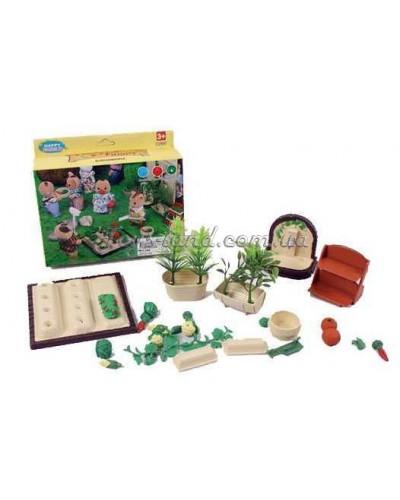 Игровой набор (огород) 012-06B  Happy Family, в короб.12*14*5см