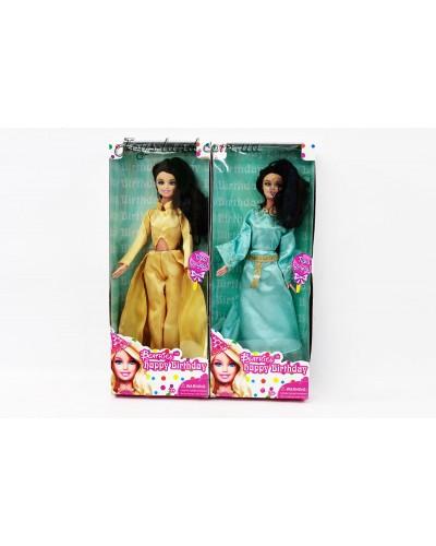 """Кукла типа """"Барби"""" 3114  2 вида, в бальных платьях, в кор. 33*13*5см"""