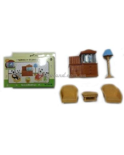 Животные флоксовые 8016B (60шт) Happy Family, в короб.18*15*4,5см